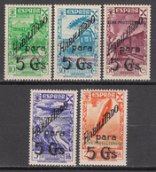 1938 BENEFICENCIA , EDIFIL Nº 17 / 21   /**/ - Marruecos Español