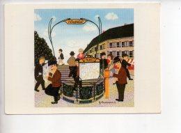 REF 305 :  CPM PARIS METRO Pigalles Dieckmann Illustrateur Edition NUGERON - Métro