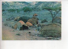 REF 305 :  CPSM DJIBOUTI Afars Et Issas Toucoul Maisons Nomades - Djibouti