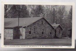 REF 338 :  CPA U.S.A. Kentucky Paducah Mayfield Seayés Breeze Steak House Of The South US - Etats-Unis