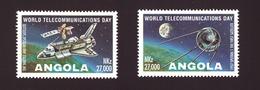 ANGOLA -1995 World Telecommunications Day # MNH # - Angola