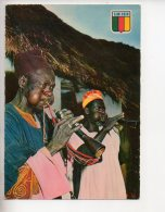 REF 310  :  CPSM CAMEROUN Musiciens Au Village - Cameroun