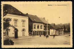 Z04 - Asse - Mollem - De Gemeenteplaats - Gebruikt 1939 - Asse