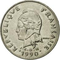 Monnaie, Nouvelle-Calédonie, 20 Francs, 1990, Paris, TTB, Nickel, KM:12 - New Caledonia