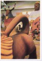 REF 349  :  CPM  Benin Les Magiciens De La Terre Cyprien Takoudagba Christian Louis - Benin