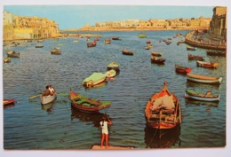 ST. JULIANS BAY. POSTED 1967 - Malta