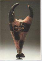 REF 348  :  CPM Art Africain CAMEROUN Buffelmasker Masque - Arts