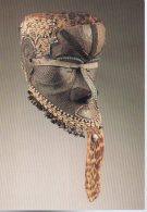 REF 348  :  CPM Art Africain ZAIRE Masque Heaume Bwoom - Arts