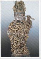 REF 348  :  CPM Art Africain CONGO Statue De Magie - Arts
