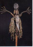 REF 348  :  CPM Moyen Sepik Iatmul Effigie D'ancêtre - Arts