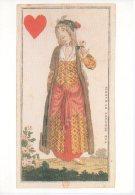 REF 348  :  CPM Bibliothe Nationale Paris Tarot Des Costumes Turc Dame De Coeur - Cartas