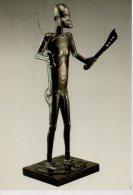 REF 348  :  CPM Benin FON Statue Représentant Glélé - Arts