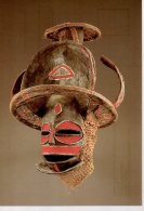 REF 348  :  CPM ANGOLA Masque De Circoncision - Arts