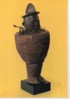 REF 348  :  CPM CONGO Statuette Masculine Téké - Arts