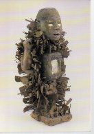 REF 348  :  CPM CONGO CABINDA Vili Statuette Nkonde - Arts