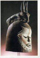 REF 348  :  CPM Suku Zaire Masque Heaume - Arts