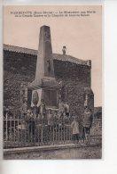 REF 308  :  CPA 79 PIERREFITTE Le Monument Aux Morts - France