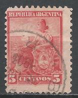 Argentina 1899. Scott #127 (U) Allegory, Liberty Seated * - Argentine