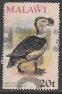 Malawi 1975 Birds 20t Multicoloured SW 236 O Used - Malawi (1964-...)