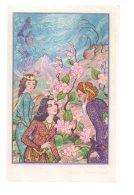 REF 322  :  CPA Double Carte Téhéran Iran - Iran