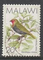 Malawi 1988 Birds 20t Multicoloured SW 508 O Used - Malawi (1964-...)