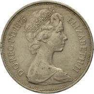 Monnaie, Grande-Bretagne, Elizabeth II, 10 New Pence, 1975, TB, Copper-nickel - 1971-… : Monnaies Décimales