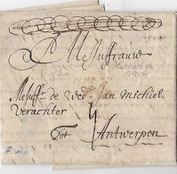 -Précurseur,1709 London,texte En Neerlandais ,agrémenté D'un Schema  ,adressé à - Grande-Bretagne