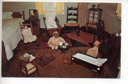 REF 323  :  CPSM Nursery Ash Lawn Home Of Président James Monoe Charlottesville Poupée Ancienne - Etats-Unis