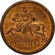 Monnaie, Lithuania, 10 Centu, 1991, TB, Bronze, KM:88 - Lithuania