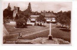 REF 323  :  CPA Grande Bretagne Harpenden Church Green - Angleterre