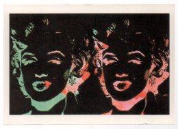 REF 327  :  CPM Double Marilyn MONROE Andy Warhol - Pintura & Cuadros