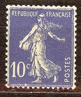 SUPERBE SEMEUSE N°279 10c Outremer NEUF Avec GOMME** Cote 3 Euro - 1906-38 Semeuse Camée
