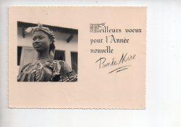 REF 309  :  CPSM Meilleurs Voeux Pointe Noire CONGO - Pointe-Noire