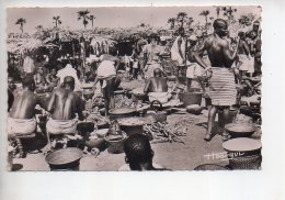 REF 309  :  CPSM TCHAD Maché De Village - Tchad