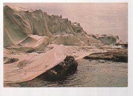 REF 332  :  CPSM Christo Little Bay Australia 1969 Wrapped Coast - Arts