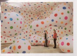 REF 332  :  CPM Yayooi Kusama Installations Paris Maison Du Japon - Arts