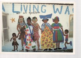 REF 332  :  CPM Namibie Tony Pupkewitz Mur Peint - Namibia