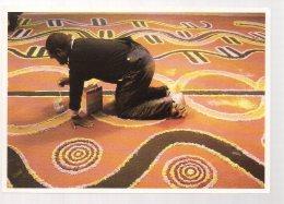 REF 332  :  CPM Australie Yuendumu Par Christian Louis 1989 - Aborigènes