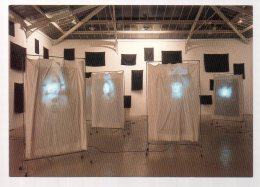 REF 332  :  CPM Christian Boltanski Installation Galerie Yvon Lambert 1986 - Arts