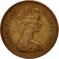 Monnaie, Grande-Bretagne, Elizabeth II, New Penny, 1976, TB, Bronze, KM:915 - 1971-… : Monnaies Décimales