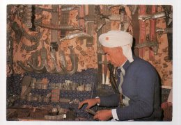 REF 325  :  CPSM YEMEN Sana A Vendeur De Jambias - Yémen