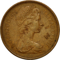 Monnaie, Grande-Bretagne, Elizabeth II, 2 New Pence, 1975, TB, Bronze, KM:916 - 1971-… : Monnaies Décimales