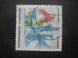 Allemagne N°1939 EXPOSITION UNIVERSELLE De HANOVRE 2000 Oblitéré - 2000 – Hanover (Germany)