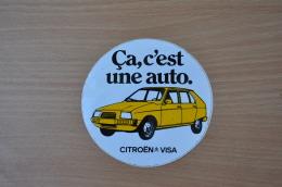 REF 351 :  Autocollant Citroen Visa - Stickers