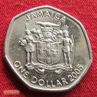 Jamaica 1 Dollar 2005 KM# 164 Jamaika Jamaique - Jamaica