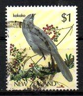 NOUVELLE-ZELANDE. N°895 Oblitéré De 1985. Le Glaucope Cendré. - Songbirds & Tree Dwellers