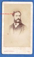 Photo Ancienne CDV - LIMA ( Pérou ) - Portrait & Autographe - F. DUBREUIL , Diaspora Française - 1872 - Courret Hermanos - Photos