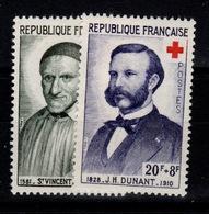 Croix Rouge YV 1187/1188 N** Cote 3,20 Eur - Unused Stamps