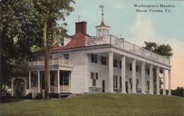 Virginia Mount Vernon Washington's Mansion - Stati Uniti