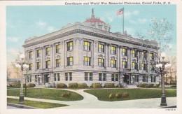North Dakota Grand Forks Court House and World War Memorial Club